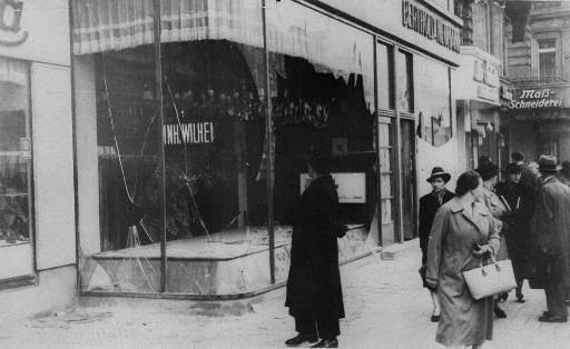 Period 3's LA Wiki / Kristallnacht- The Night of Broken Glass